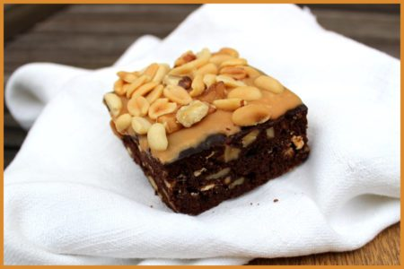 Brownie Rocky Road från Myrans Bageri