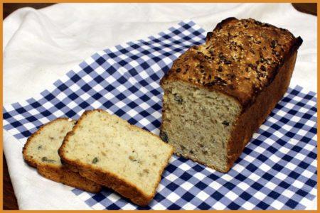 Bröd bakat på glutenfritt mjöl från TM Bagarstuga