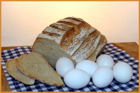 Köp Ekologiska ägg och bröd. Fri frakt och hemleverans oavsett hur lite du beställer.