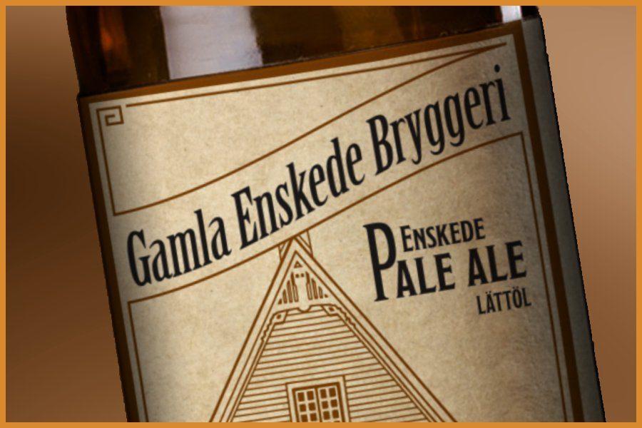 Köp Ekologisk Enskede Pale Ale från Gamla Enskede Bryggeri. Fri frakt och hemleverans oavsett hur lite du beställer.