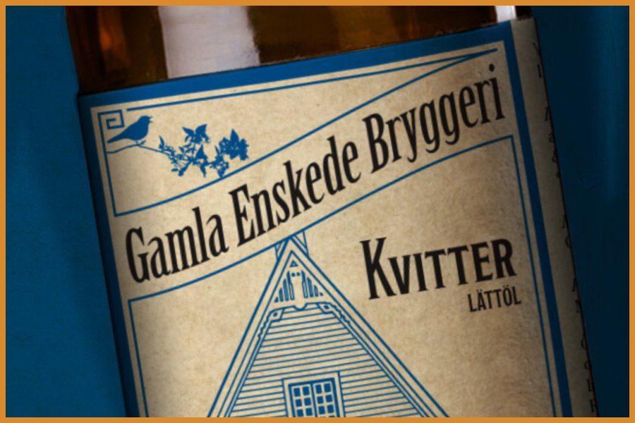 Köp Kvitter en ekologisk sommarlättöl från Gamla Enskede Bryggeri. Fri frakt och hemleverans oavsett hur lite du beställer.